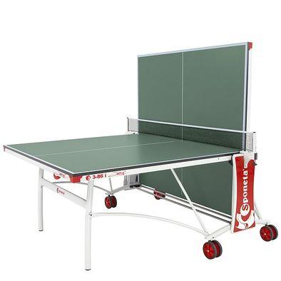 Теннисный стол для помещений Sponeta S3-86i зеленый