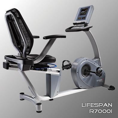 Велотренажер горизонтальный LifeSpan R7000i Фото