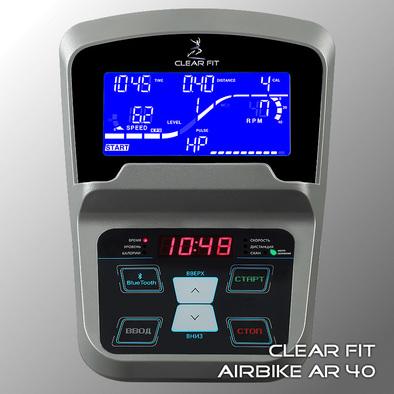 Велотренажер горизонтальный Clear Fit AirBike AR 40 Фото