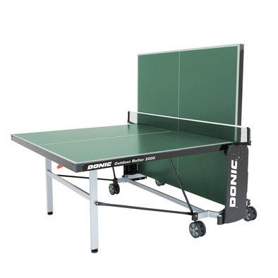 Теннисный стол всепогодный Donic Outdoor Roller 2000 зеленый