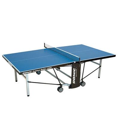 Теннисный стол всепогодный Donic Outdoor Roller 1000 синий Фото