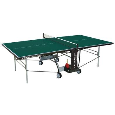 Теннисный стол для помещений Donic Indoor Roller 800 зеленый