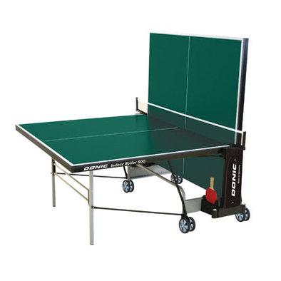 Теннисный стол для помещений Donic Indoor Roller 800 зеленый Фото