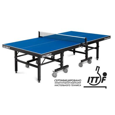 Профессиональный теннисный стол Start Line Champion синий Фото