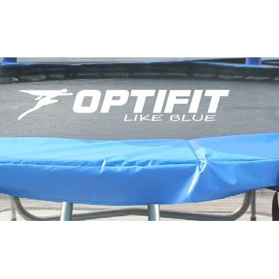 Батут с сеткой OPTIFIT Like Blue 16ft