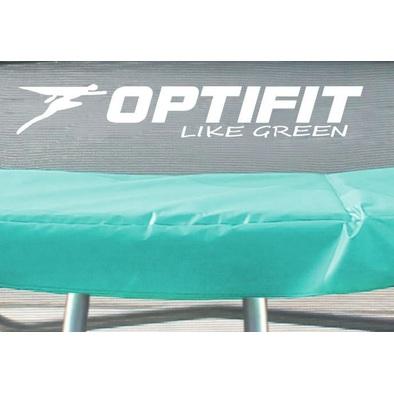 Батут с сеткой OPTIFIT Like Green 6ft с крышей