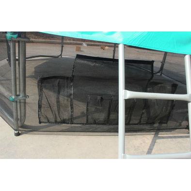 Батут с сеткой OPTIFIT Like Green 6ft с крышей Фото