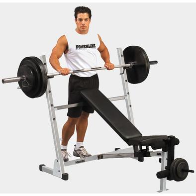 Универсальная скамья для жима Body Solid Powerline POB44 Фото