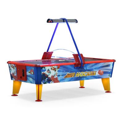 Игровой стол Аэрохоккей Wik Ice & Fire Gold 8ft с купюроприемником Фото