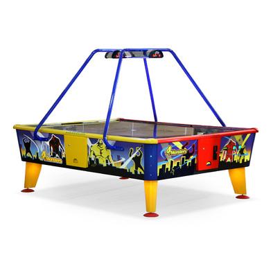 Игровой стол Аэрохоккей Wik 4 Monsters с купюроприемником