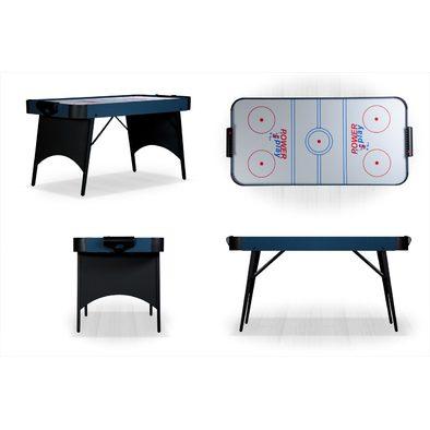 Игровой стол Аэрохоккей Blue Ice 5ft складной Фото