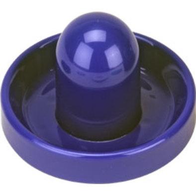 Бита для аэрохоккея синяя D96 mm Фото