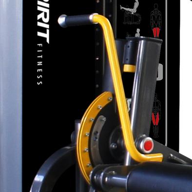 Сгибание/разгибание ног сидя Spirit Fitness DWS141-U2 Фото
