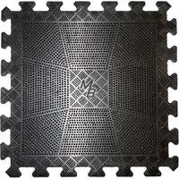 Коврик резиновый 400x400x12 мм черный