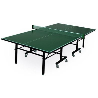 Складной стол для настольного тенниса Player зеленый Фото