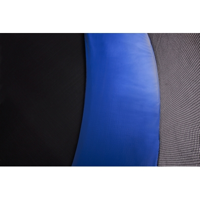 Батут с защитной сеткой и лестницей Diamond Fitness External 8ft Фото