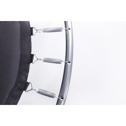 Батут с защитной сеткой и лестницей Diamond Fitness Internal 8ft
