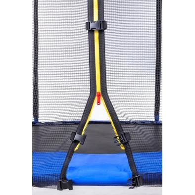 Батут с защитной сеткой и лестницей Diamond Fitness External 10ft Фото