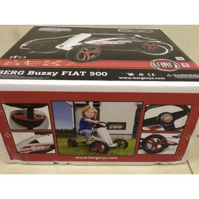 Веломобиль BERG Buzzy Fiat 500 Фото