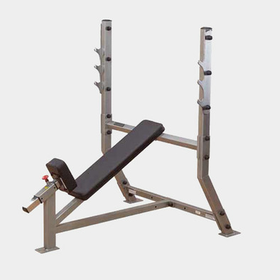 Наклонная скамья для жима Body Solid ProClub SIB359G Фото