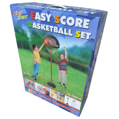 Мобильная баскетбольная стойка для детей DFC KIDS1 Фото
