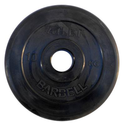 Диски обрезиненные черные Atlet 51 мм Фото