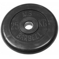 Диски обрезиненные черные Barbell 51 мм