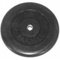 Диски обрезиненные черные Barbell 31 мм
