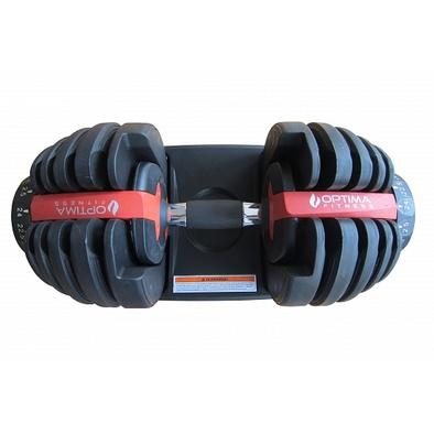 Регулируемая гантель Optima Fitness 24 кг