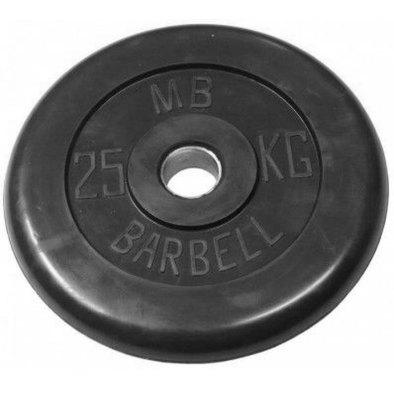 Диски обрезиненные черные Barbell 26 мм Фото
