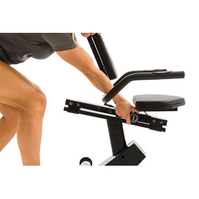 Горизонтальный велотренажер Xterra SB150 Фото