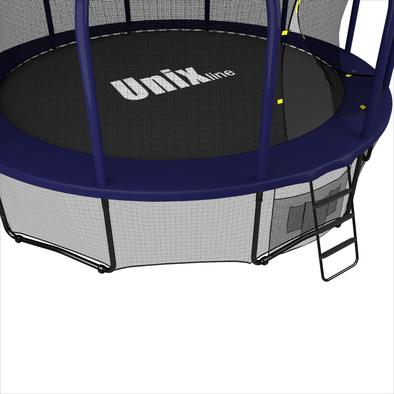 Батут с сеткой Unix Supreme 14 ft