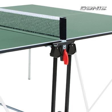 Теннисный стол для помещений Donic Indoor Roller Sun зеленый Фото