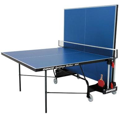 Всепогодный теннисный стол Donic Outdoor Roller 400 синий