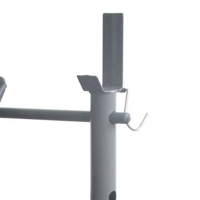Силовая скамья со стойками DFC D308