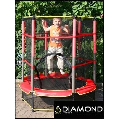 Мини-батут с сеткой Diamond Fitness 4,5 ft