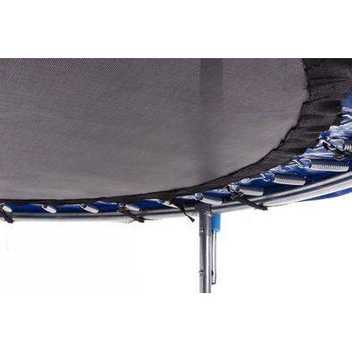 Батут с защитной сеткой и лестницей Diamond Fitness External 12ft
