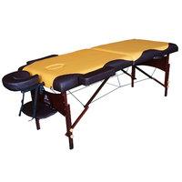 Массажный стол DFC Nirvana Relax Горчичный с коричневым