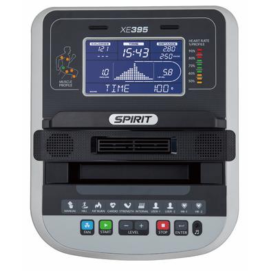 Эллиптический тренажер Spirit Fitness XE395 (2017)