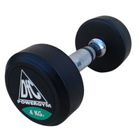 Гантели обрезиненные пара 4 кг DFC PowerGym DB002-4