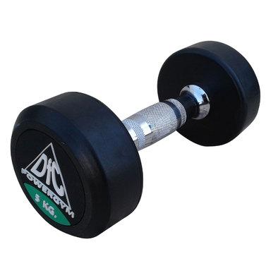 Гантели обрезиненные пара 5 кг DFC PowerGym DB002-5