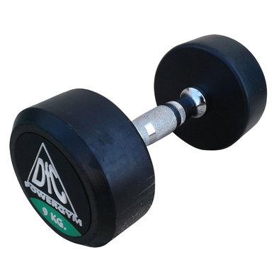 Гантели обрезиненные пара 9 кг DFC PowerGym DB002-9