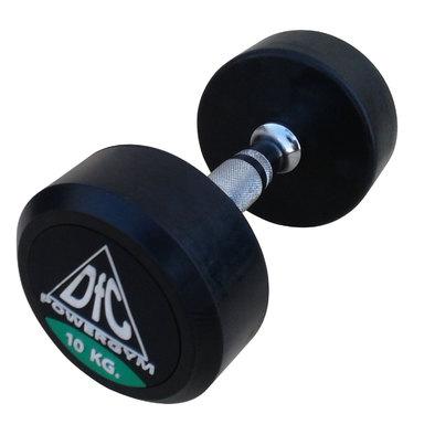 Гантели обрезиненные пара 10 кг DFC PowerGym DB002-10 Фото