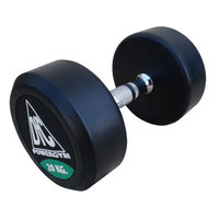Гантели обрезиненные пара 20 кг DFC PowerGym DB002-20
