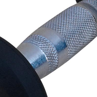 Гантели обрезиненные пара 22,5 кг DFC PowerGym DB002-22.5