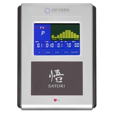 Эллиптический тренажер Oxygen Satori EL HRC EXT Фото