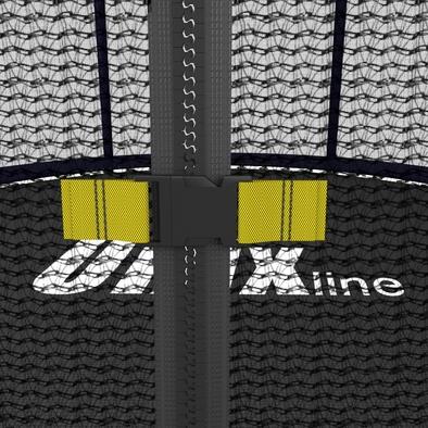 Батут с сеткой Unix Supreme 8 ft Фото