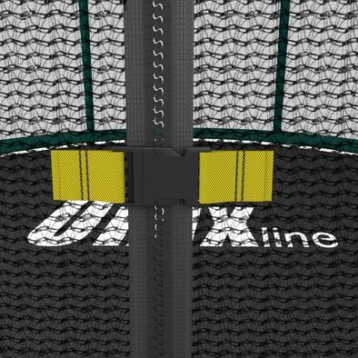 Батут с сеткой Unix Supreme 8 ft