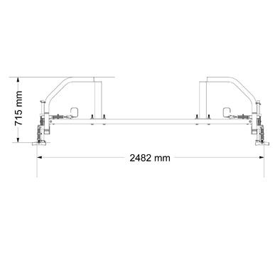 Опция Кроссовер Body Craft F434