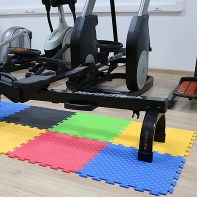 Маты-пазлы для фитнеса и тренажеров DFC